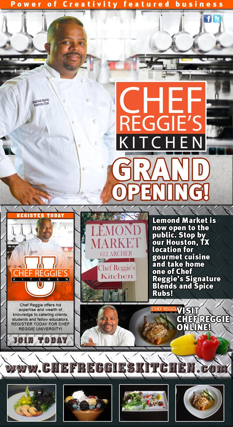 Jacquie Hood Martin Grand Opening Lemond Market Chef Reggie S Kitchen